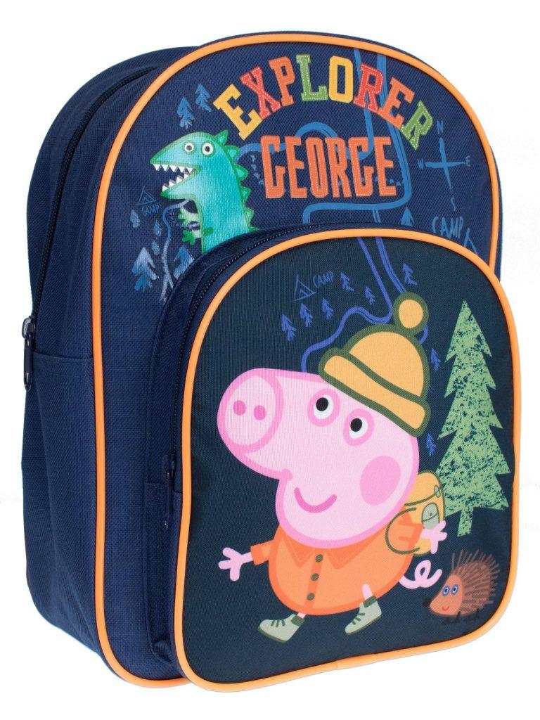 Mochila de George Pig para pequeños