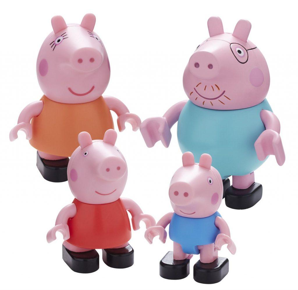 set-de-4-minifiguras-la-familia-pig-en-multiples-colores
