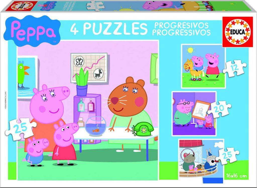 puzzle-de-peppa-de-diferentes-piezas
