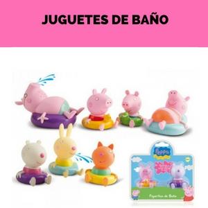 juguetes de baño peppa pig